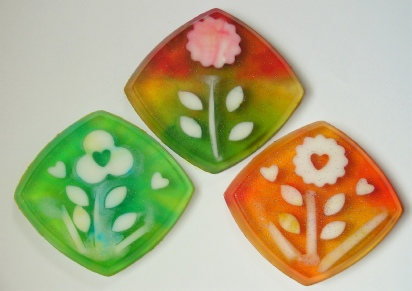 Floral Soaps - Create Your Own